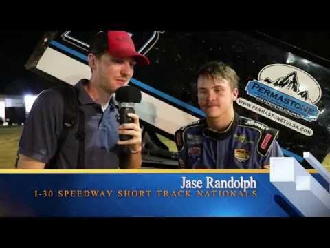 Jase Randolph Interview At I-30 Speedway Short Track Nationals