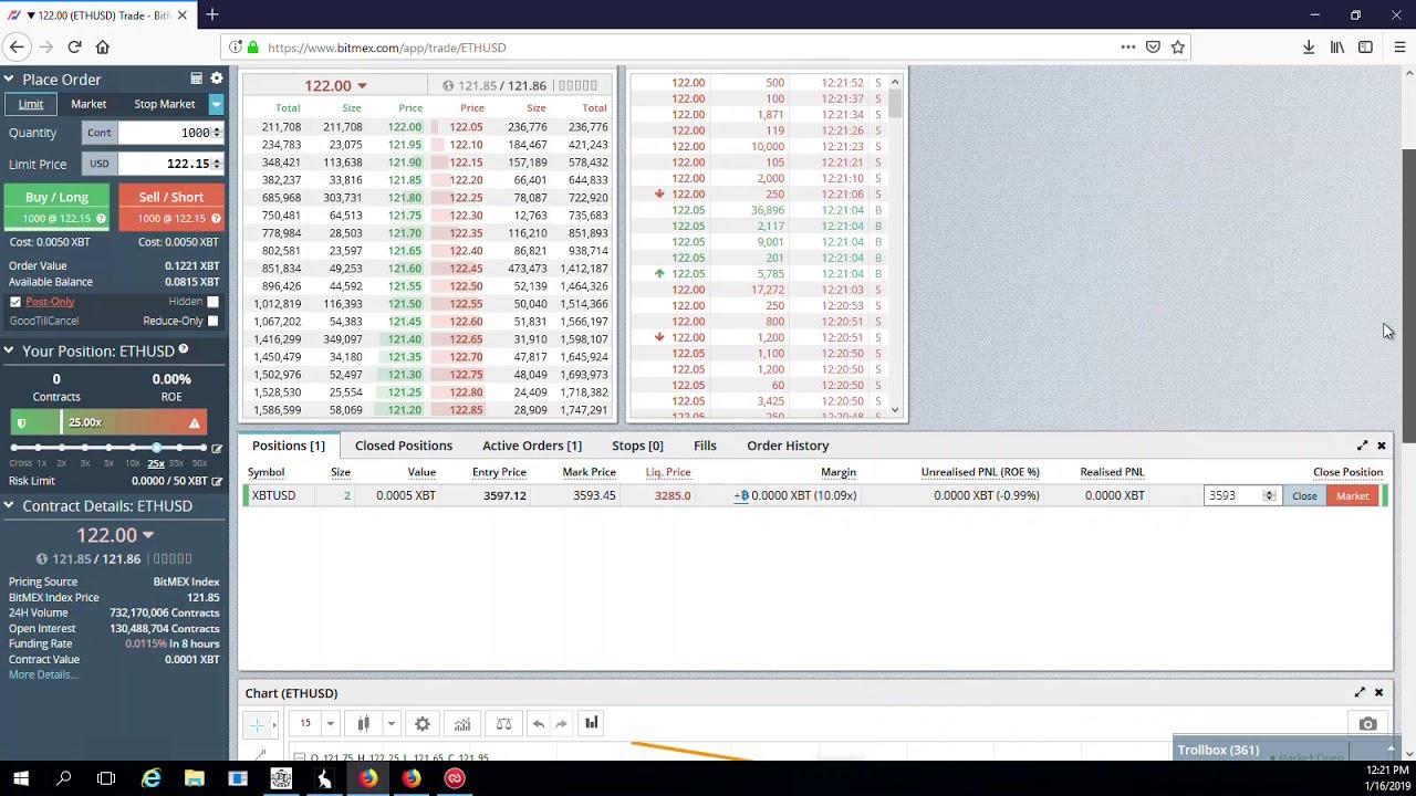 Bitmex Tutorial Market Maker Post Only Sliding the Limit Price