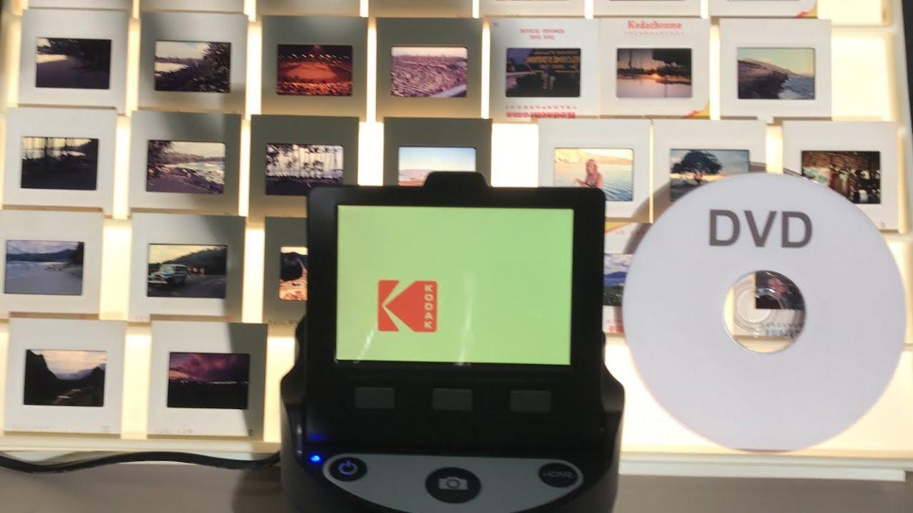 Pleasing results digitizing 35mm slides using Kodak Scanza