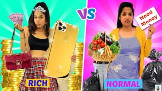 SISTER'S - Rich vs Normal | ShrutiArjunAnand