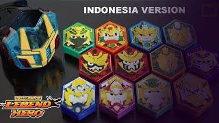 Download Video LEGEND HERO GANWU CHANGER DX ALL SOUND ! (Semua suara) Indonesia Version 12 Hero Piece MP3 3GP MP4