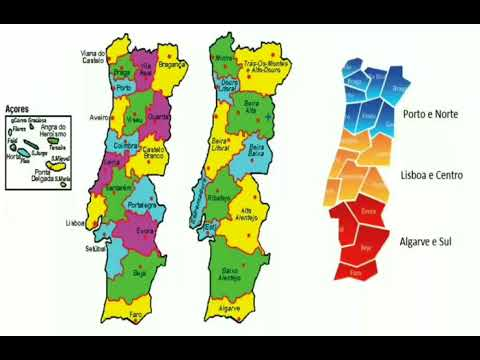 Portugal Entendendo O Que E Distrito Concelho Freguesia