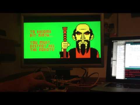 My game BIT NINJA for Arduino UNO