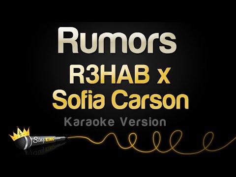 R3HAB x Sofia Carson - Rumors (Karaoke Version)
