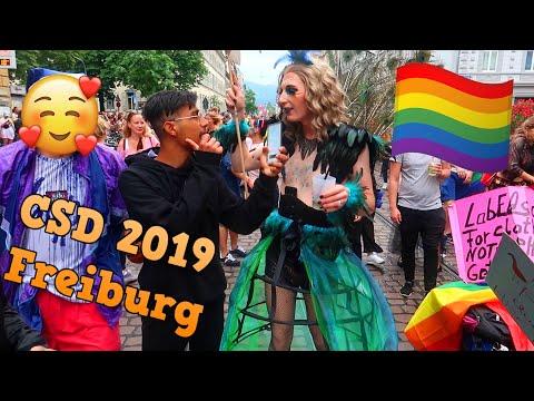 STREET INTERVIEW auf dem CSD FREIBURG 2019! 🏳️🌈🏳️🌈🏳️🌈