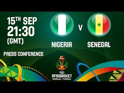 Nigeria v Senegal - Press Conference
