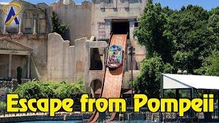 Escape from Pompeii Full POV at Busch Gardens Williamsburg