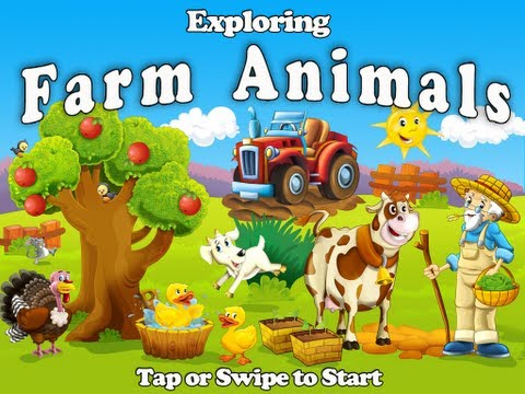 Exploring Farm Animals App for iPad by www.BubbalooDigital.com