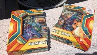 CRAZY POKEMON FLIP IT OR RIP IT WITH A DRAGONITE EX BOX!