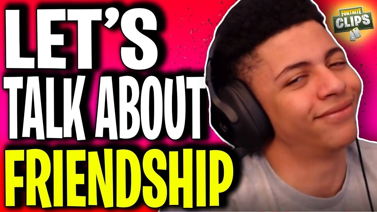*THERE ARE NO BEST FRIENDS* - MYTH GIVES A SERIOUS SPEECH ABOUT FRIENDSHIP  | Fortnite Funny Moments