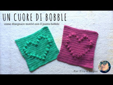 bellezza nuovi oggetti davvero comodo Tutorial - Un cuore di Bobble (come realizzare disegni con ...