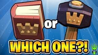 """WHICH IS BETTER HAMMERS 🔨 OR BOOKS 📕? - Free to Play TH10 Ep.9 - """"Clash of Clans"""""""