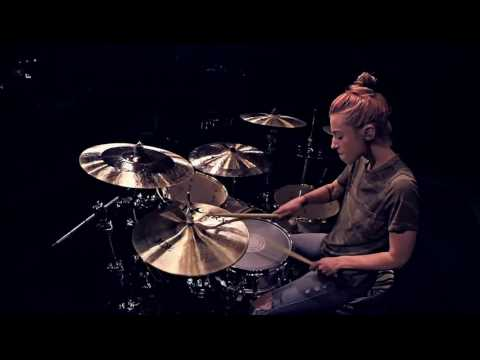 Lindsey Raye Ward - Sia ft. Kendrick Lamar - The Greatest (Drum Cover)