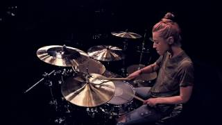 Lindsey Raye Ward - Sia ft. Kendrick Lamar - The Greatest (Drum Cover)