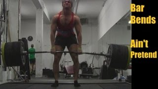 565 Pound (256 KG) Deadlift Attempt  at 181 (Chef Buff Back in Action)