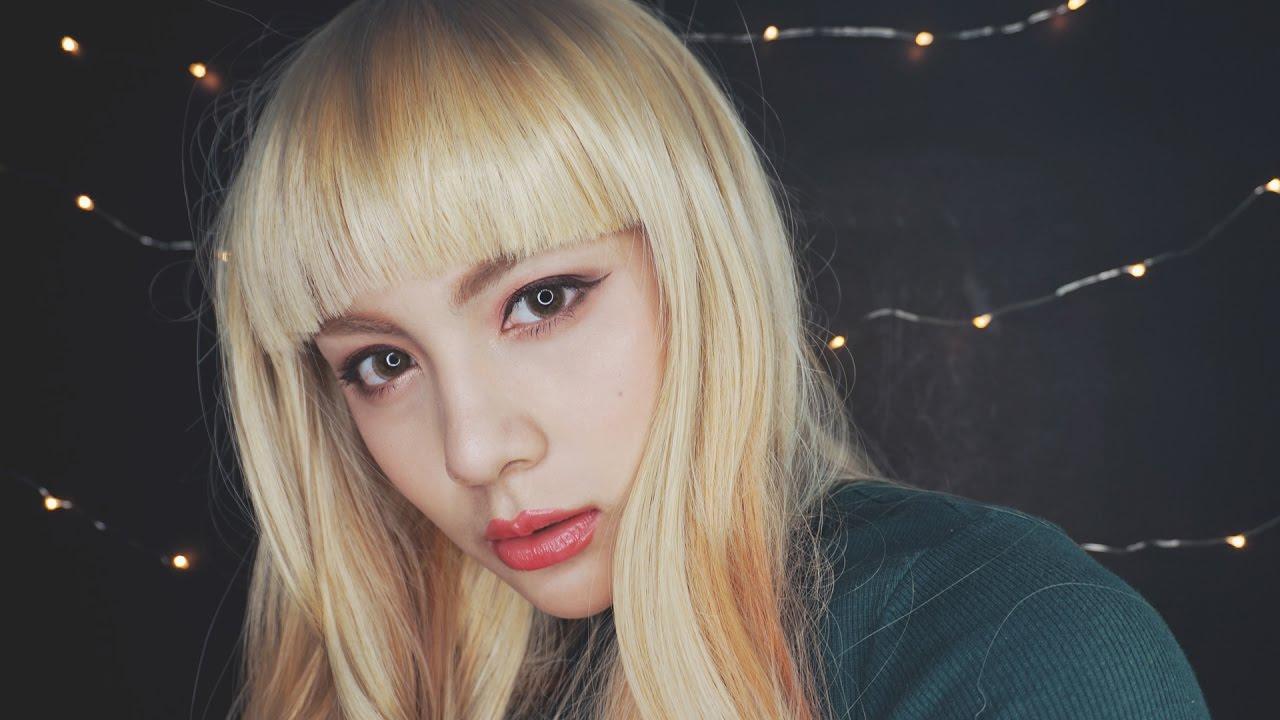 Lisa Blackpink Inspired Makeup แต งตามล ซ า Fah Sarika Youtube