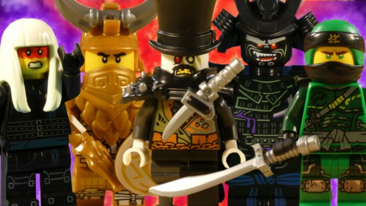 LEGO NINJAGO HUNTED - ULTRA COMPILATION