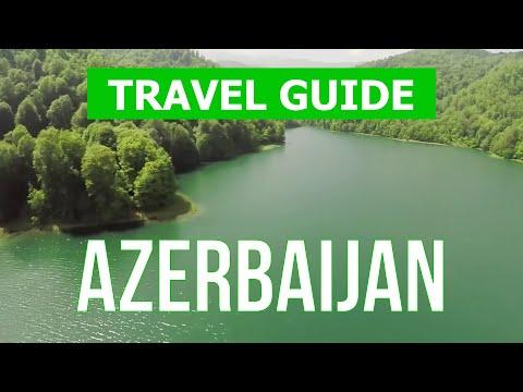 Azerbaijan city tour   Baku, Caspian Sea, nature, beach   Drone video 4k   Azerbaijan travel guide