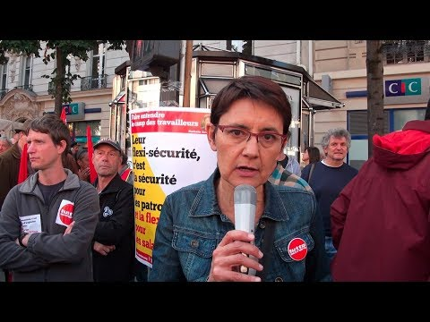 Interview dans la manifestation du 21 septembre 2017 à Paris