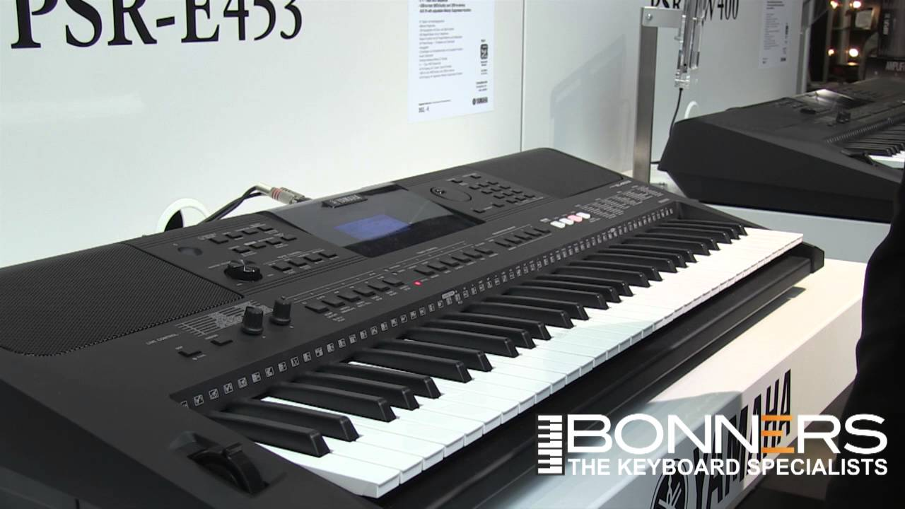 Yamaha psr e453 keyboard buyers guide demo from uk for Yamaha psr e453 specs