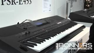 Ямаха ПСР-E453 клавіатури - покупців керівництво та демо з Великобританії