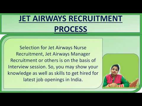 JET Airways Recruitment 2019 MO, Nurse, Manager, Analyst Vacancies