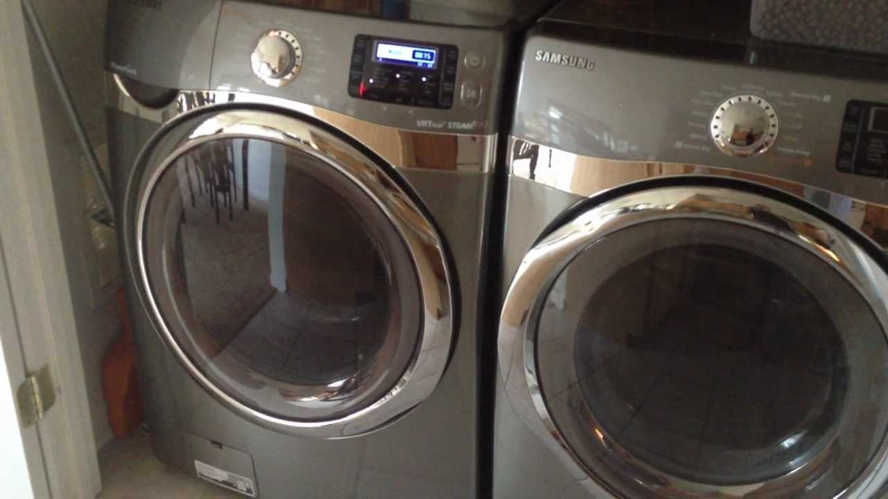 Samsung Front Loader Washer And Dryer Review Wf520abp Dv520aep You