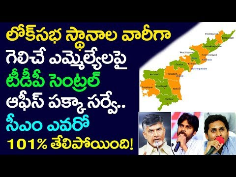 TDP Central Office Survey On Andhra Elections, Next CM Of AP