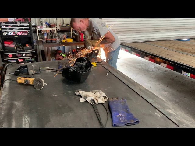 RV Trailer Build #119 - Install Class 5 Trailer Hitch & Weight Distribution Hitch with Sway Control