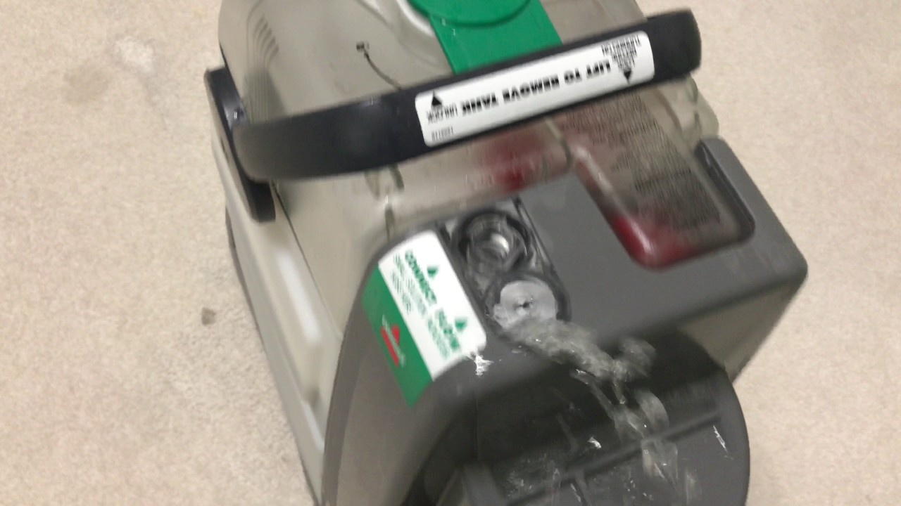 My Bissell Big Green Deep Cleaning Machine Carpet Cleaner