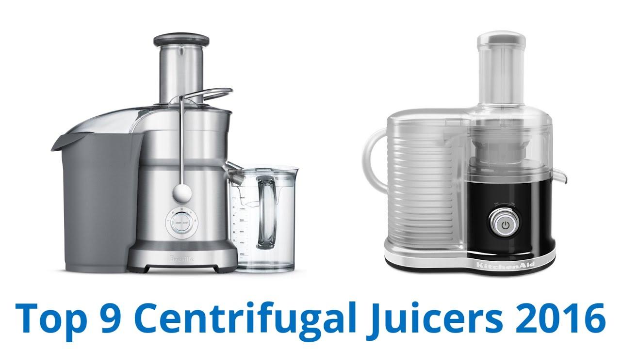 9 Best Centrifugal Juicers 2016 - YouTube