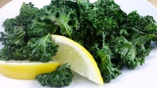 Lemon Kale Crisps | Vegan Recipe | Vegetarian Recipe| August Cooking | How To Cook Kale