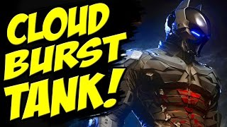Batman Arkham Knight DEFEAT The CLOUDBURST TANK BOSS / Destroy the Cloudburst Tank