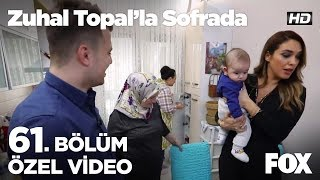 Minik Hamza'dan mutfağa sürpriz ziyaret...  Zuhal Topal'la Sofrada 61. Bölüm