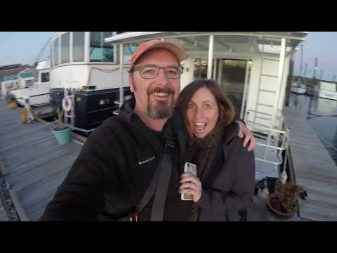 House Boat Rental - Arrival And Tour - Boston Bay Marina - East Boston On Chelsea River