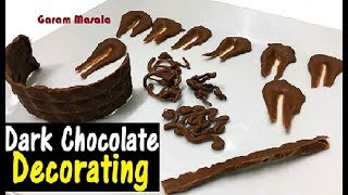 ഈസിയായി കേക്ക് അലങ്കരിക്കാനുള്ള ടിപ്സ് Dark Chocolate Decorating For easy Cake Decoration