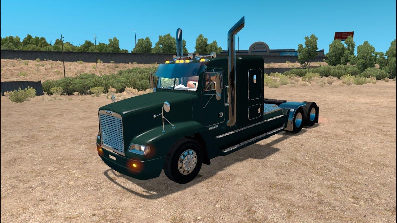 Mod Review: Freightliner FLD 120 *READ DESCRIPTION* - YouTube
