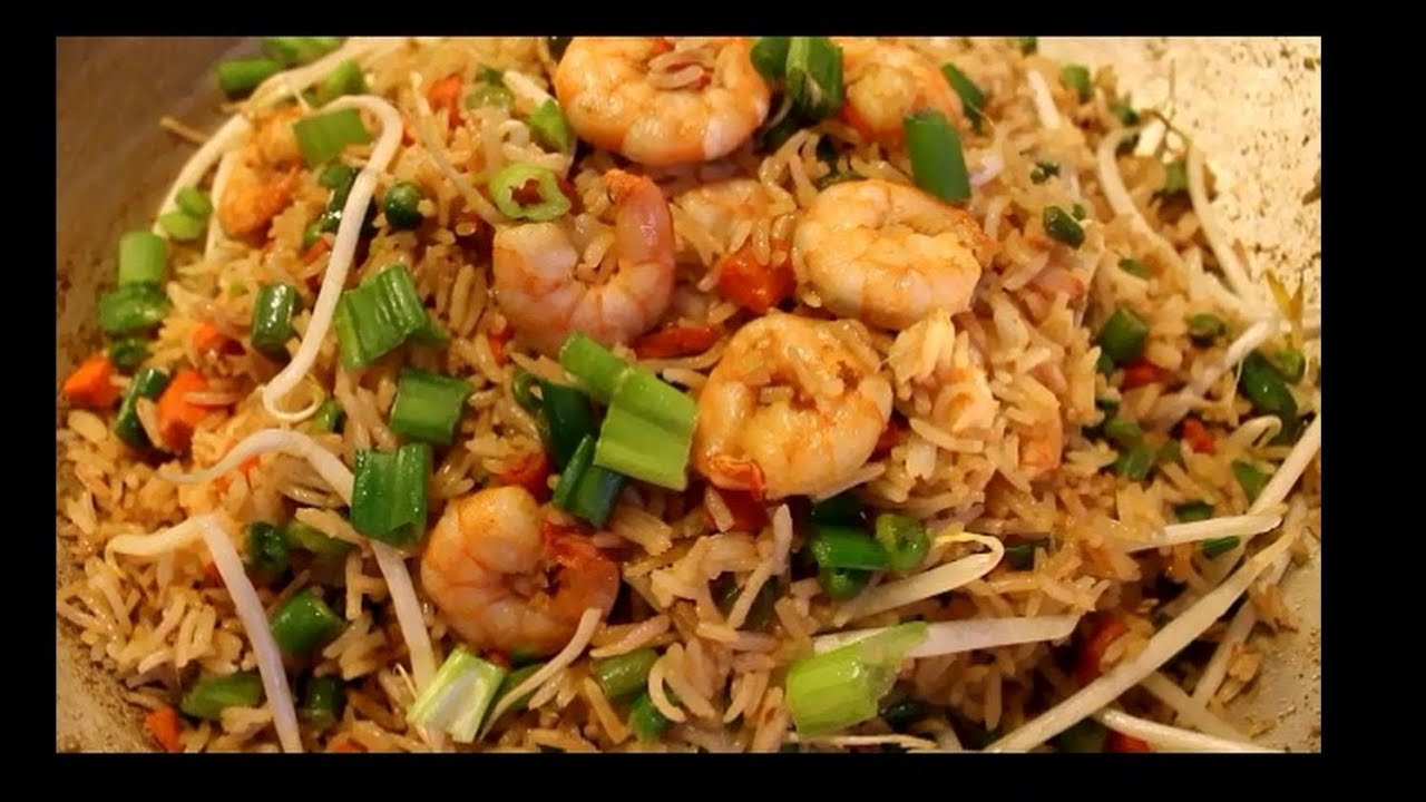 How To Make Fried Rice Shrimp Fried Rice Chinese Style Fast