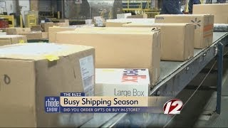 The Buzz: Busy shipping season