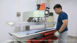 How to make carbon fiber composite tubes by roll wrapping technique at DJT CARBON