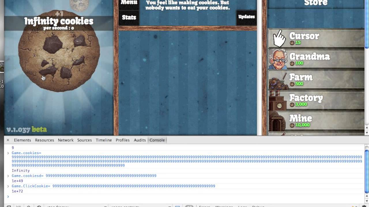 How to <b>Cheat</b>: Cookie Clicker <b>Infinity</b> Cookies! {Mac and PC} - YouTube