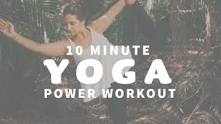 YOGA CLASS ☀️ Power Yoga for Heart and Hip Opening | Palm Beach Florida