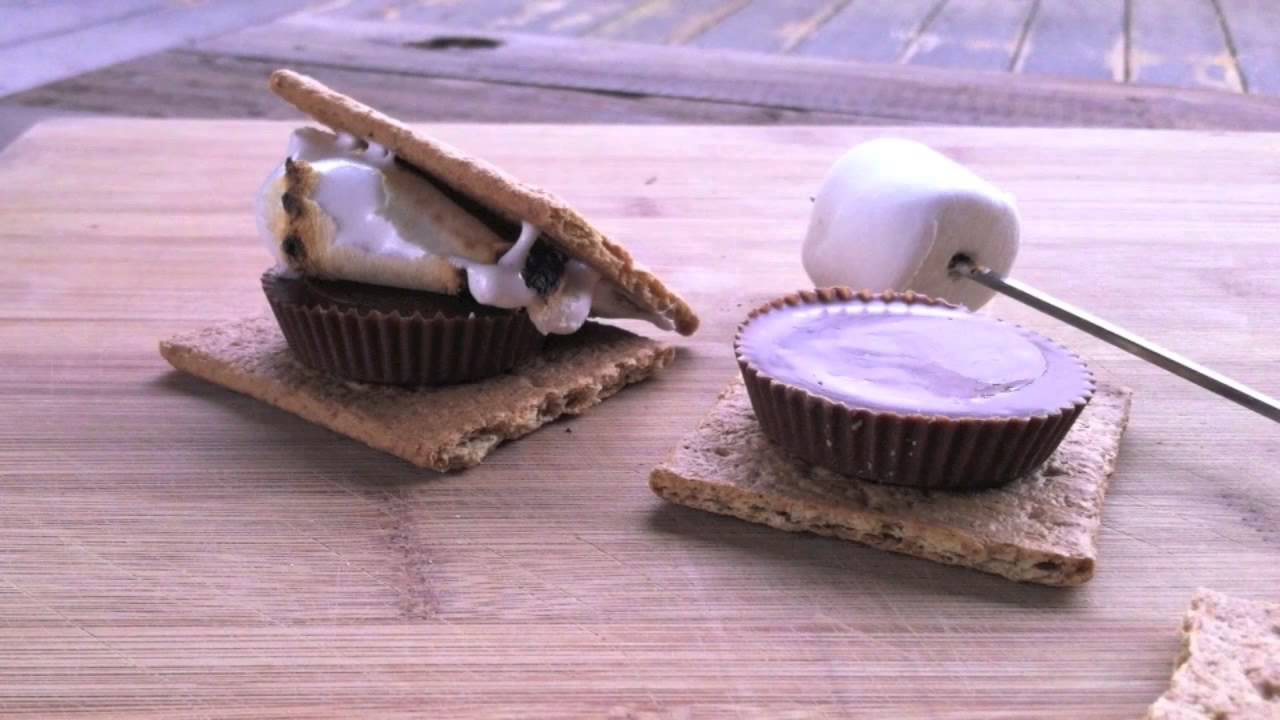 how to make the perfect smore sunset