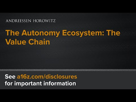 The Autonomy Ecosystem: The Value Chain (3 of 8)