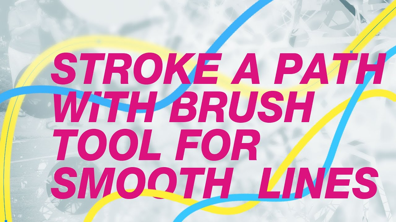 Drawing Lines With The Pen Tool : Photoshop use the pen tool brush to create lines