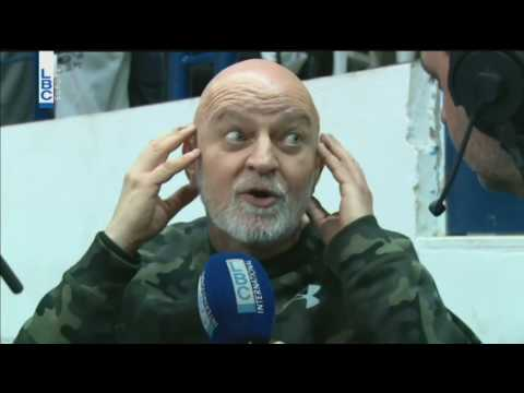 Lebanese Basketball - Season 2016 / 2017 - Interview with Coach Ghassan Sarkis