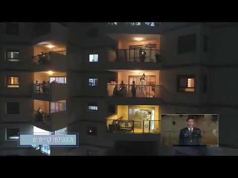 YOM HAZIKARON: LOS ISRAELÍES ENTONARON HATIKVA DESDE SUS BALCONES