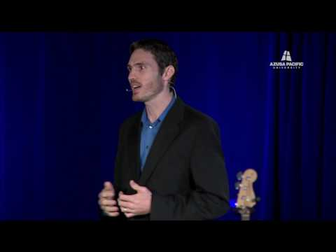 How your insights can change the world -- Rasmussen at Azusa Pacific University