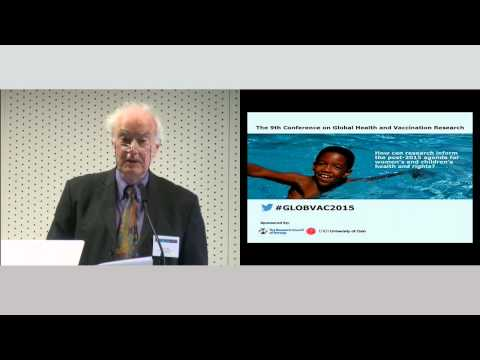 Peter Smith, Chair of GLOBVAC programme board - Prof, London School of Hygiene and Tropical Medicine