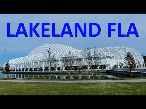 Lakeland Florida Map.Lakeland Florida Map Video Youtube